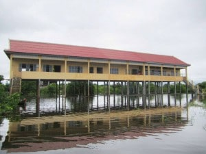 OUR FIRST SCHOOL IN CAMBODIA